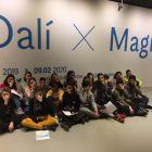 Image La 1A à l'exposition Dali
